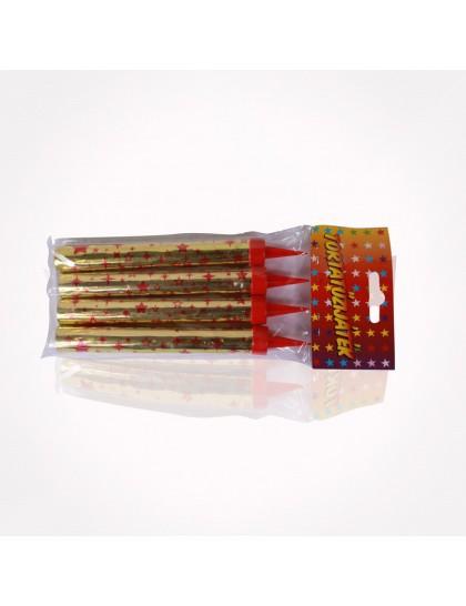 Tortacsillagszóró PTF001  12cm 4db/cs