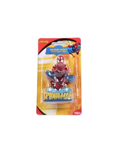 Mese gyertya 3D Spider Man