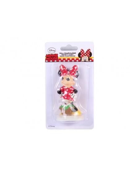 Mese gyertya 3D Minnie Mouse